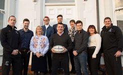 We Continue To Be 'Part Of The Team' After Being Named Marketing Partner Of Nottingham Rugby Club For The 2018/19 Season!