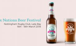 We Love Being 'Udderly' Good Sports After Agreeing to Sponsor A Beer At Nottingham Rugby Club's Six Nations Beer Festival Weekend!