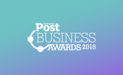 We're a finalist in not one, but two categories in the 2018 Nottingham Post Business Awards!