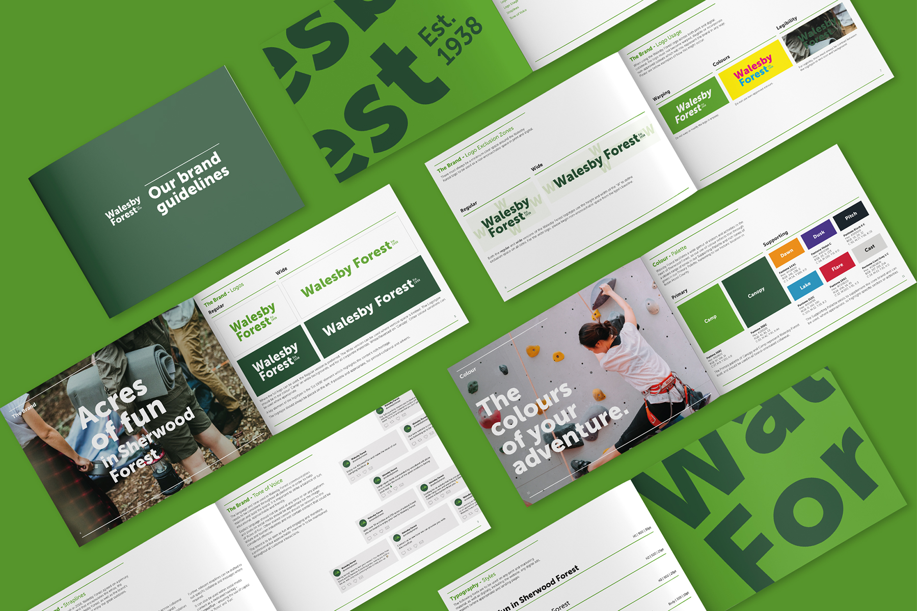 Walebsy Forest Brand Guidelines