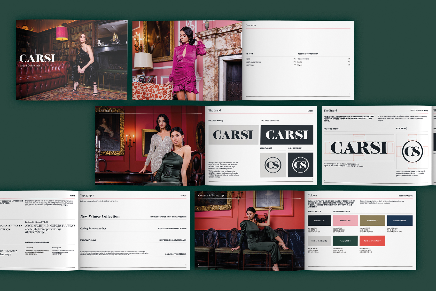 Carsi Collection Brand Guidelines